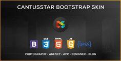 Cantusstar UI Kit and Bootstrap Skin - https://codeholder.net/item/skins/cantusstar-ui-kit-bootstrap-skin