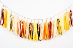 Sunny Side Up Garland by StudioMucci on Etsy