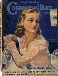 Evolution of Cosmopolitan Magazine, 1896 – 1976 | Retronaut #vintage #magazines #Cosmopolitan