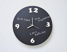 Hodiny - Nástenné hodiny - tabuľové - 7057254_