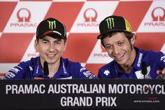 MotoGP, Rossi: io e Lorenzo abbiamo un diario segreto