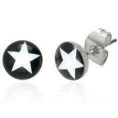Star earrings, just something fun and different