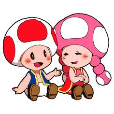 Search 'Toad x toadette' on DeviantArt - Discover The Largest Online Art Gallery and Community Super Mario Brothers, Super Mario Bros, Yoshi, Marvel Cartoon Movies, Nintendo Characters, Mario Kart, Toad, Game Character, Pokemon
