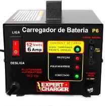 Carregador Baterias 12v - Carro Moto - Não Precisa Desligar!