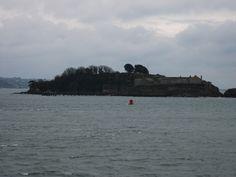 Drake's Island, Plymouth, UK