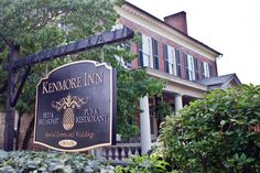 The Kenmore Inn. Bed & Breakfast. Pub & Restaurant. Fredericksburg, Virginia.