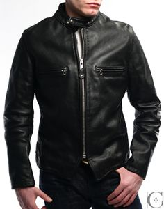 Perfecto Leather Cafe Racer Jacket $900