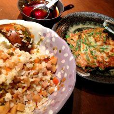 タケノコ第三弾♪ 小林カツ代さんレシピの韓国風タケノコご飯です( ´ ▽ ` )ノ - 8件のもぐもぐ - 韓国風タケノコご飯&チヂミ by misa5311
