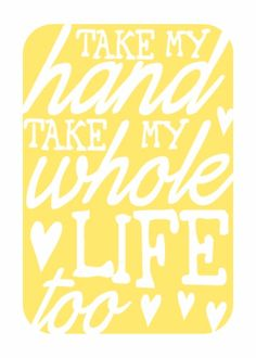 Typography Print Love Song Lyrics - sunshine yellow - Take My Hand Elvis Presley Love Songs Lyrics, Lyric Quotes, Music Lyrics, Me Quotes, Elvis Lyrics, Elvis Quotes, Lyric Art, Heart Quotes, Frases