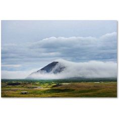 Trademark Fine Art 'Black Mountain Side' Canvas Art by Philippe Sainte-Laudy, Size: 22 x 32, Multicolor