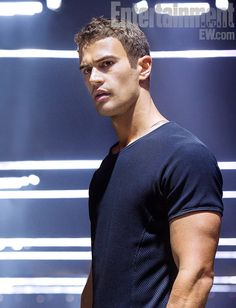 New 'Divergent' photo! Here is the first picture of (drumroll) Theo James as Four