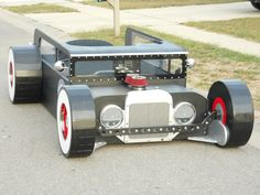 Twin Bed 1930 Ford Rat Rod Fantasy Bed by KidsCreationsBeds, $2,695.00