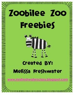 There are four different zoo related freebies in this super mini pack.Bear Necessities: Students can play this alone or with a small group. Pri...