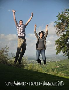 Sophie & Arnold, jump for Forestaria Organic Farm in Tuscany, Lucca
