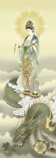 Quan Yin with Dragon ~ Master of Mystical Fire ~ is the oldest and wisest spirit-animal, illuminating collective unconsciousness through lightning Great Reads from Exceptional Authors at http://wildbluepress.com. True crime, thrillers, mystery and business productivity books.via Ningrum Auguste Pande