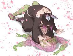 Shinobu and Mitsuri