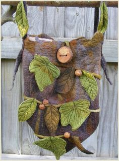 When I dress up like a faerie, I'll need a little purse like this