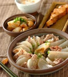 豚大根の蒸し煮ユズコショウ風味の献立 YuzuKosho Pork Daikon
