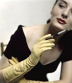 Vintage Glamour magazine, 1950s