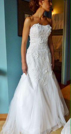 Nouvelle robe publiée!  Robe Mariée NALEJO XS. Pour seulement 390€! Economisez 69%! http://www.weddalia.com/fr/boutique-vendre-robe-de-mariee/robe-mariee-nalejo-xs/ #RobesDeMariée www.weddalia.com/fr