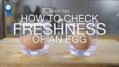 Wonder if your eggs are fresh? Just A Pinch Test Kitchen has an easy way to check!