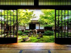 Kyoto - Kennin-ji zen tempel tuin