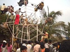 human powered ferris wheel - motivation for graph of the sine wave