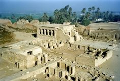 Visitors to Luxor, who have the time, should try and visit the famous Temple of Hathor at Dendera. The Temple is located about 4KM from the River Nile, on its west bank, roughly opposite the city of Qena. It is also called as Dendera Temple. #Egypt #Holidays #Deendera