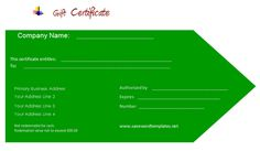 Gift certificate template is used as convertible value for amount becoming popular day by day according to the events among people. Free Gift Certificate Template, Gift Certificates, Professional Gifts, Business Gifts, Company Names, Business Names, Gift Vouchers, Gift Cards