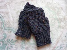 Fingerless gloves, Wool blend DK crochet, fashion, accessories, gift, ladies, warm, wrist by Alisonscrochet on Etsy https://www.etsy.com/uk/listing/472884047/fingerless-gloves-wool-blend-dk-crochet