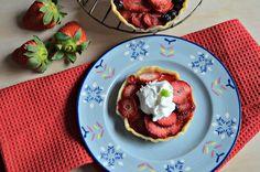 Mini Strawberry Galette #SundaySupper http://basicndelicious.com/mini-strawberry-galette-sundaysupper/