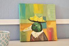 CitronenKlee - Portrait einer ZitronenEnte von PiepShow & WeibsBilder auf DaWanda.com