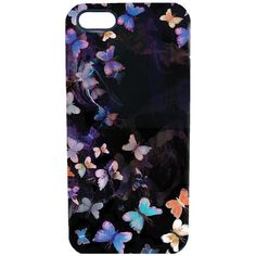 Nikki strange Butterfly Mirage Phone Case ($34) ❤ liked on Polyvore featuring accessories and tech accessories