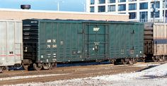 50' Express Boxcar Chicago IL July 2002