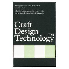 Craft Design Technology/メモック付箋紙 細4本入り 399yen 柔らかく滑らかな付箋