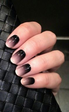 The ombre nail will be your favorite nail art designs. It is not a new art design but every woman sometimes tries it. So ombre nail is very popular. Best Ombre Nail Designs For 2019 Art Ideas Pretty Black And White Nails Fancy Nails, Love Nails, Diy Nails, Ombre Nail Designs, Nail Art Designs, Dark Nail Designs, Classy Nail Designs, Gorgeous Nails, Pretty Nails