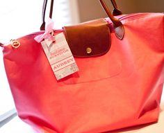 bag tag on bag