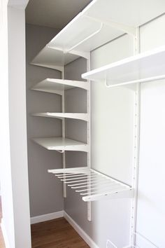How to Organize a Small Closet | Just a Girl and Her Blog
