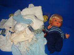 Muñeca CHUPETIN con decenas de accesorios (ropa y vestidos) buen estado-AÑOS 70