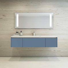 Stilrent og tidløst design til badet - Mono-modellen | HTH