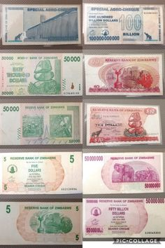 9 x Zimbabwe Currency Notes Collection. in the Africa category was listed for on 31 Aug at by TomHarvey in Vereeniging Zimbabwe, Kinds Of Music, Listening To Music, Style Guides, Finding Yourself, Africa, Notes, Collection, Report Cards