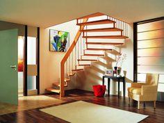 escalier moderne : île PIREN suspendu #EscaliersPOTIER