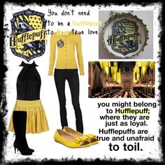 """""""Hufflepuff"""" by sweetexplosions on Polyvore"""