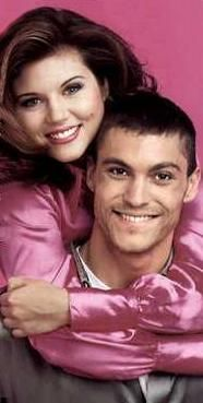 Beverly Hills 90210 David and Val Brian Austin Green, David Austin, Best Tv Couples, Celebrity Couples, Famous Couples, Beverly Hills 90210, Tiffany Amber, Judging Amy, Tiffani Thiessen