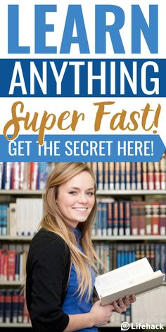 The secret technique to learn ANYTHING super fast! Find out how! #studying #productivity #brainhack #brainpower