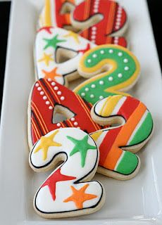 Alphabet & Number Cookies ~ from Cookies with Character