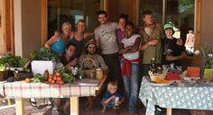 A community that works together, sups together, enjoys life together