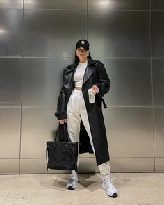 Casual Winter Outfits, Winter Fashion Outfits, Look Fashion, Fall Outfits, Girl Fashion, Mode Outfits, Stylish Outfits, Mode Ootd, New Mode