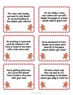 Gingerbread Man Scavenger Hunt - Sunny Day Family