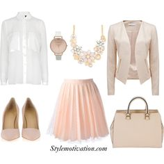 Spring church outfit